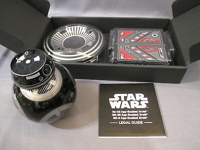 "Star Wars ""BB-9E"" App-Enabled Droid Sphero 2017 The Last Jedi"