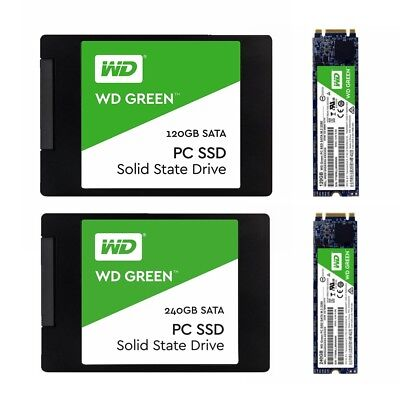 SSD 120GB 240GB WD Green Western Digital Internal Solid State Drive 2.5'' M.2