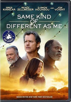 Same Kind Of Different As Me (DVD 2017) Brand NEW! Kinnear, Zellweger*FREE SHIP!