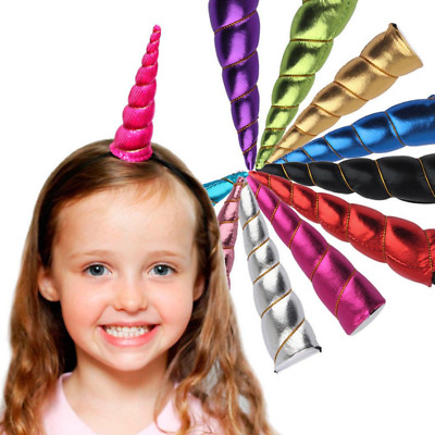 Magical Unicorn Horn Head Party Hair Headband Perfect Dress Cosplay Decoration