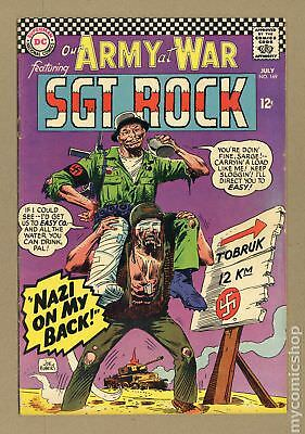 Our Army at War #169 1966 VG/FN 5.0
