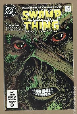 Swamp Thing (2nd Series) #49 1986 VF/NM 9.0