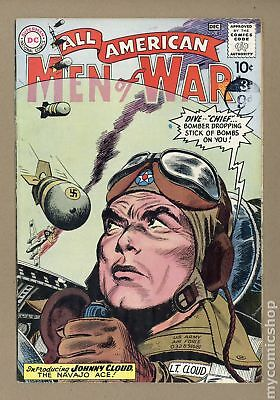 All American Men of War #82 1960 VG 4.0