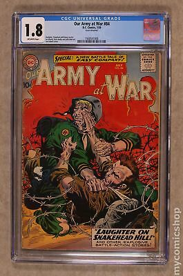 Our Army at War #84 1959 CGC 1.8 1568541006