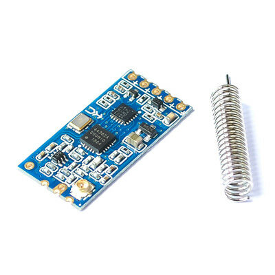 NEW 433Mhz HC-12 SI4463 Wireless Serial Port Module 1000m Replace Bluetooth
