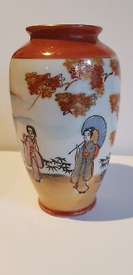 Vintage Japanese Vase Handpainted Fine Bone China @@FREE POST@@