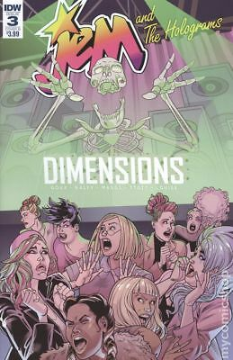 Jem and The Holograms Dimensions #3B 2018 VF Stock Image