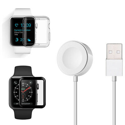 For 38/42mm Apple Watch iWatch 1 2 3 2M Magnetic Charging Cable Cord Charger Pad