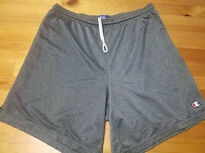 2d51d03ad462eb VINTAGE CHAMPION MEN S Size Medium Gray Athletic Shorts -  9.99 ...