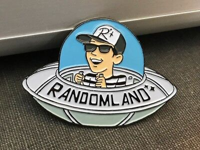 UFO Pin Randomland FLYING SAUCER - SALE!