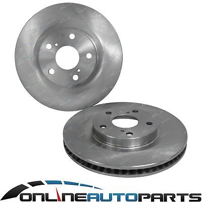 Front Disc Brake Rotor Pair suits Toyota Camry ACV40R AHV40R 2006~2012 FWD