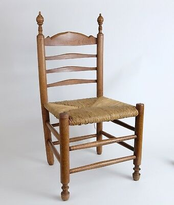 Antique Dutch Childs Childrens' Chair 19th century. seat hight 34cm/ 13.6 inch