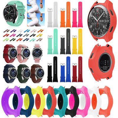 Silicone Buckle Wrist Watch Band Strap Belt For Samsung Gear S3 Replacement