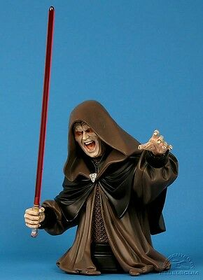 Star Wars EMPEROR PALPATINE mini bust~ROTJ~Darth Sidious~statue~Gentle Giant~NIB