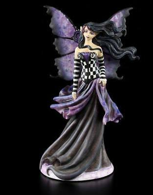Fairysite - Goth Purple - Amy Brown Fee Elfe Dekostatue