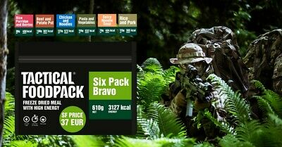 Tactical Foodpack Six Pack Bravo Outdoor Nahrung Notverpflegung