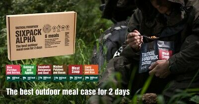 Tactical Foodpack Mashed Potatoes and Bacon Outdoor Nahrung Notverpflegung
