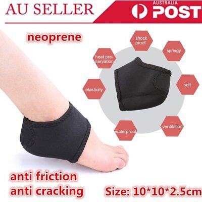 Unisex Plantar Fasciitis Heel Arch Support Foot Pain Relief Sleeve Wrap RM