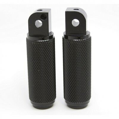Triumph Thruxton Motorcycle Polished Knurled Aluminum Footpegs