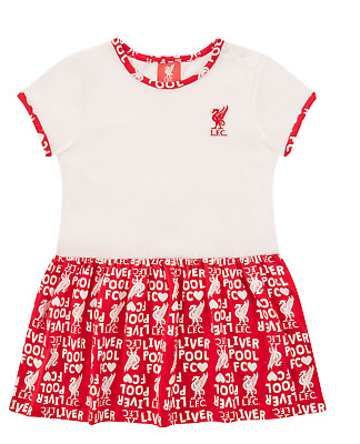 Liverpool Fc Baby Clothing Red Summer Dress Babies Toddler Official LFC