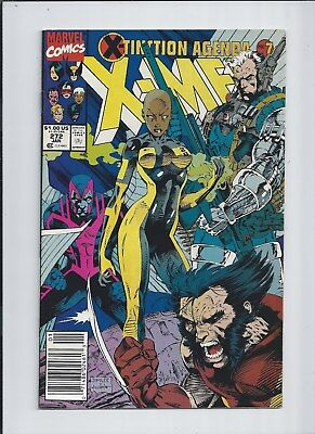 X-Men #272 VF/NM (9.0) 1991 White Pages! Newsstand edition.