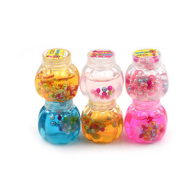 Pumpkin Bottle Slime Pearl Crystal Plasticine DIY Jelly Mud Clay For Kids To Jl