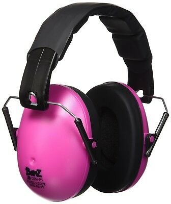 Baby Banz Earmuffs Pink Toddler Earmuffs Soft Cup Ear Muffs For Ages 2-10 Years
