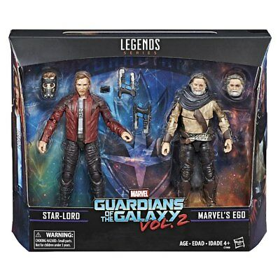 """Marvel Legends Guardians Of The Galaxy 2 - Star-Lord & Ego 2-Pack 6"""""""