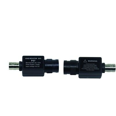 2Pcs 50 Ohm Feed Through Terminator BNC to BNC 50KY Device Q9 Adapter