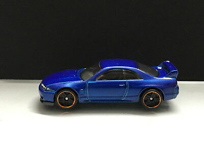 2018 Hot wheels JDM > Nissan Skyline GT-R R33 Blue > Unspun Loose