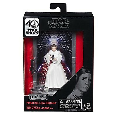 Star Wars Black Series Titanium Series 40th Anniversary Princess Leia Organa #04