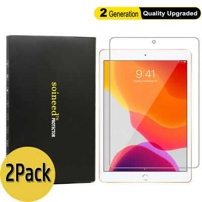 [2-Pack] SOINEED Apple iPad 6 6th Gen 9.7 2018 Tempered Glass Screen Protector