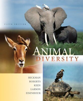 Animal Diversity by Cleveland P., Jr. Hickman, Larry S. Roberts, Susan L....