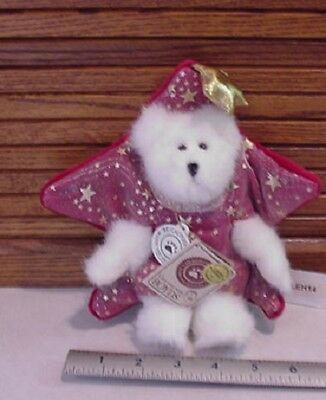 Longaberger Basket Homestead Boyds Twinkles Star Plush Bear New W/tag
