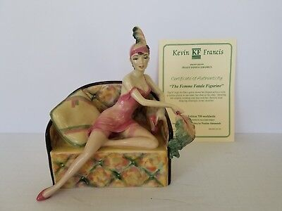 Kevin Francis, Peggy Davies, The Femme Fatale Figurine, Limited Edition