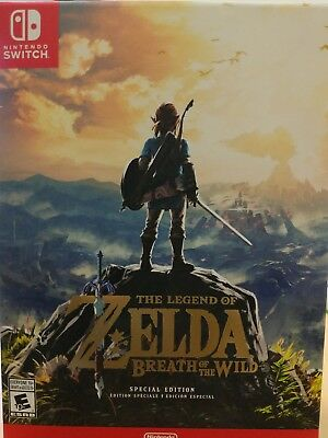 The Legend of Zelda: Breath of the Wild Special Edition - Nintendo Switch