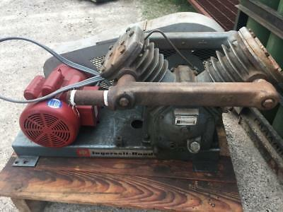 Ingersoll - Rand V255 Vacuum Pump - 5HP Leeson Single Phase - Excellent