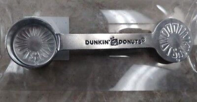 Dunkin' Donuts Stainless Steel DD Coffee Scoop - Limited Edition - NEW