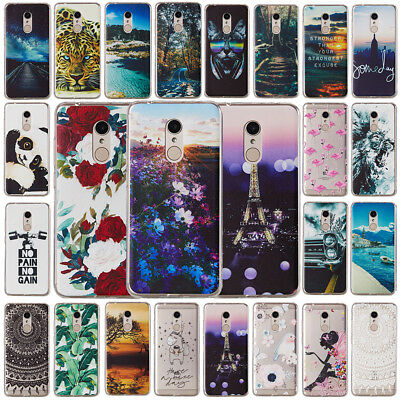 For Xiaomi Redmi 5 Plus Note 5 Pro 5A 4X Patterned Slim Soft Silicone Cover Case