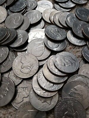Huge Ike Dollar Hoard - Eisenhower $ Coin - 10 Coins Per Lot