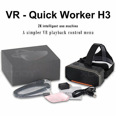 Vr H3 All In One 3d Glasses 360 Virtual Reality Headset 2k Sharp