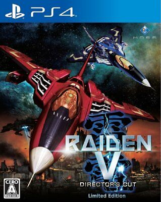 NEW PS4 RAIDEN V Director's Cut Limited Edition JAPAN Sony PlayStation 4 import