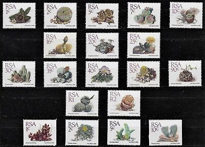 South Africa 1988 DEFINITIVE Stamps 1st 18v+ 4 COIL values Mint REF:QK578g