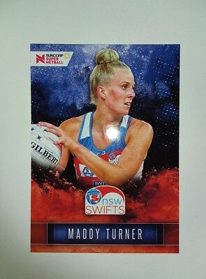 Maddy Turner Suncorp Super Netball New South Wales Swifts Card 56