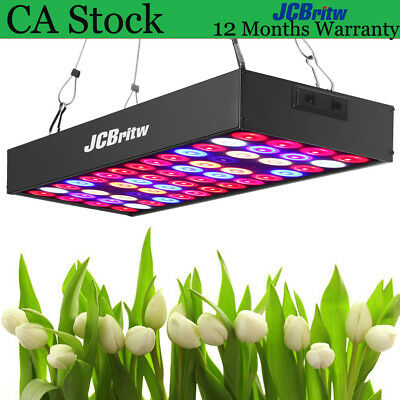 LED Grow Light Panel UV & IR 30W  Full Spectrum JCBritw Indoor Hydroponics Lamps