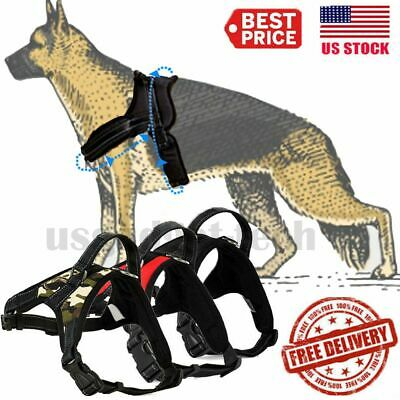 Heavy Duty-Padded Pet Dog Harness 2XL XL Large Medium Small Strap Vest Walk Out