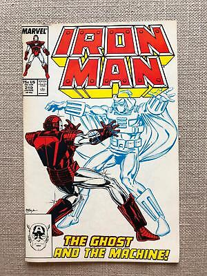 Iron Man #219 (1987) First Appearance of Ghost