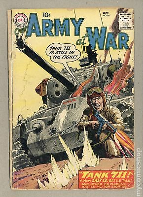 Our Army at War #86 1959 GD- 1.8