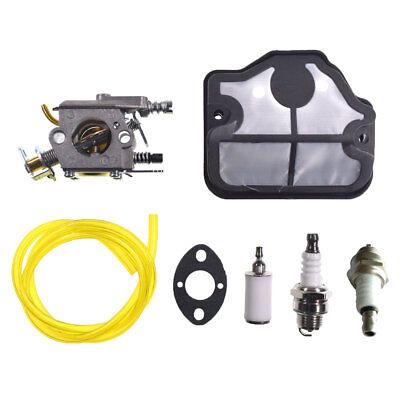 Carburettor Kit Fits Husqvarna 36 41 136 137 141 142 Chainsaw Zama C1Q-W29E Carb