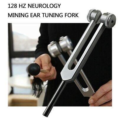 Medical-Grade C128 Tuning Fork Instrument with Fixed Weights Q3G6
